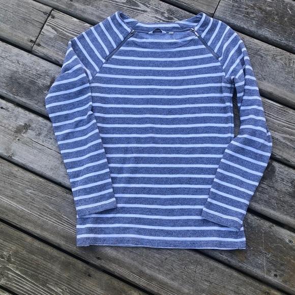 Reitmans Tops - Reitmans Petite Sailor Stripe Top